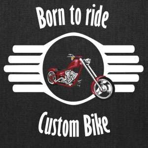 Born to ride Custom Bike - Tote Bag