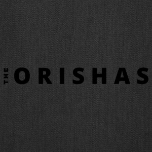 The Orishas (Black Letters) - Tote Bag