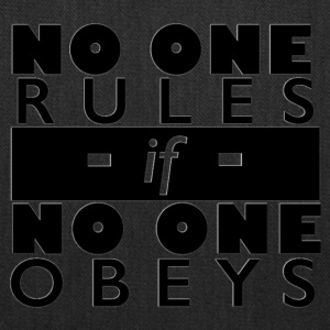 No One Rules - Tote Bag