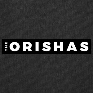 The Orishas (White Letters/Black Border) - Tote Bag