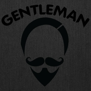 GENTLEMAN_6_black - Tote Bag