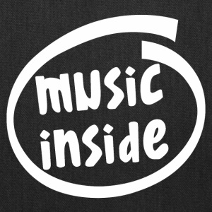 music inside (1804B) - Tote Bag