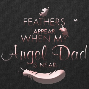 Angel Dad Dad Feathers - Tote Bag
