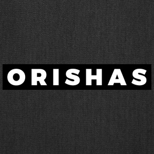 ORISHAS (White/Black Border) - Tote Bag