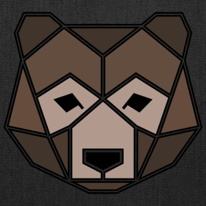 Geometric Animal: Grizzly Bear - Tote Bag