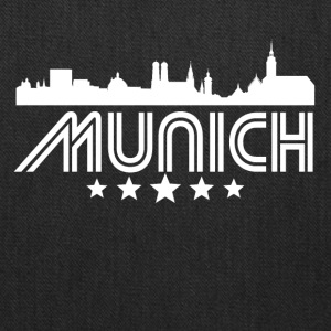Retro Munich Skyline - Tote Bag