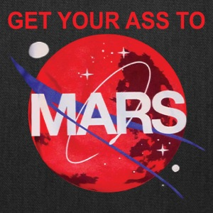 Get you ass to mars by buzz aldrin - Tote Bag
