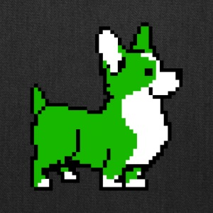Green Corgi - Tote Bag