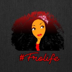 Fro life- Afro is life - Tote Bag