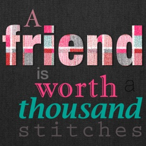 Friends Are Worth Stitches Set - Tote Bag