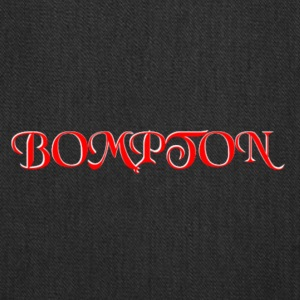 RED AND WHITE BOMPTON CALIFORNIA - Tote Bag