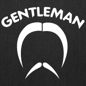 GENTLEMAN_2_white - Tote Bag