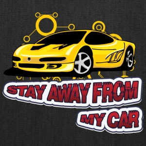 Stay_Away_from_my_car - Tote Bag