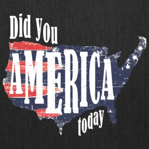 Did You America Today - Tote Bag