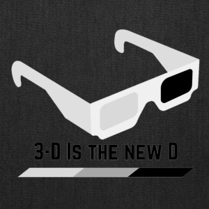 3D IS THE NEW D* - Tote Bag