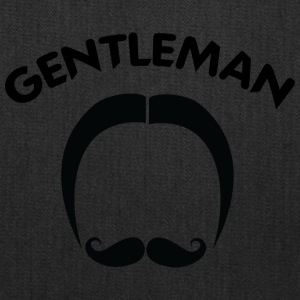 classic_GENTLEMAN_black - Tote Bag
