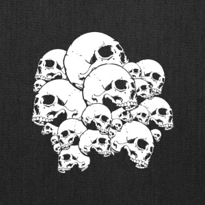 Many skulls - Tote Bag