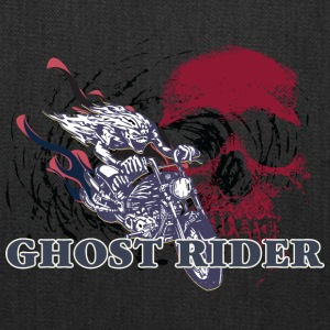 GHOST_RIDER_RED_SKULL - Tote Bag