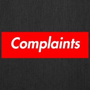 Complaints - Tote Bag