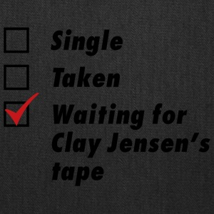 Waiting for Clay Jensen's tape - Tote Bag
