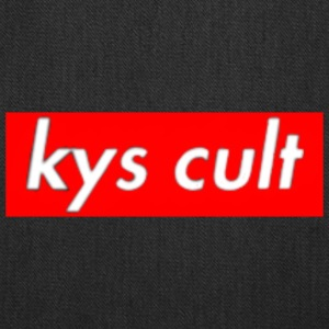 kys cult red - Tote Bag