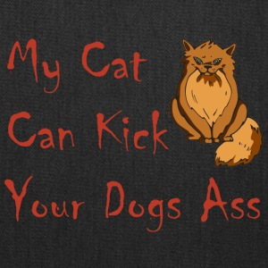 Cat Kick Ass - Tote Bag