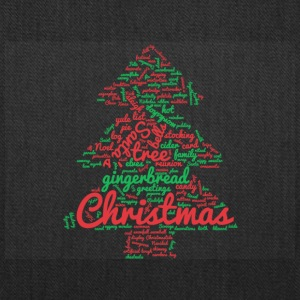 Christmas Tree Word Cloud - Tote Bag