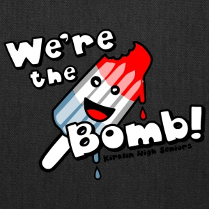 We re the Bomb Kirklin High Seniors - Tote Bag
