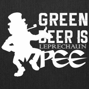 Green Beer Is Leprechan Pee Saint Patricks Day - Tote Bag