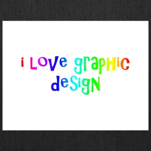 i love graphic design - Tote Bag
