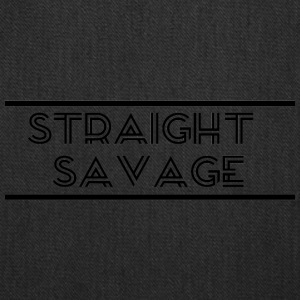 STRAIGHT SAVAGE - Tote Bag