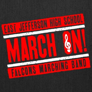 East Jefferson High School March On Falcons March - Tote Bag