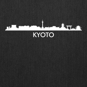 Kyoto Japan Skyline - Tote Bag