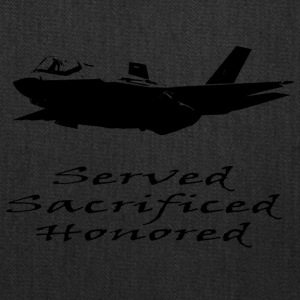 Airforce Served Sacrificed Honored - Tote Bag