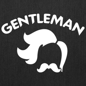 GENTLEMAN_5_white - Tote Bag