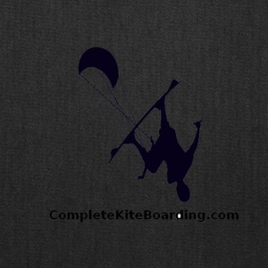COMPLETE_KITE_BOARDING_kiter_b_and_w_gif - Tote Bag
