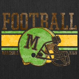 FOOTBALL M MARSHALL HIGH - Tote Bag
