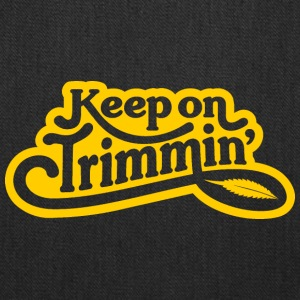 keepontrimmin_YEL - Tote Bag
