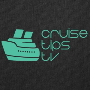 CruiseTipsTV Logo Mike's Way - Tote Bag