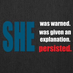 Persisted she - Tote Bag