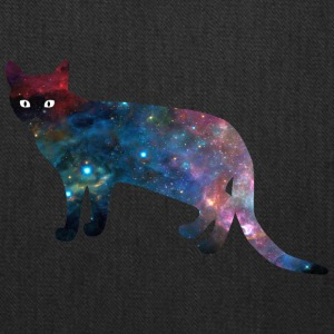 galaxy_cat_from_side - Tote Bag