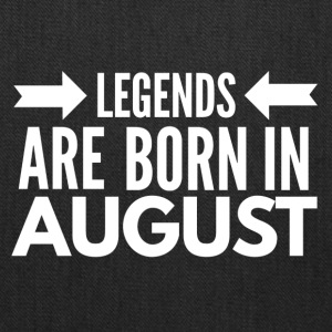Legends Born August - Tote Bag