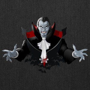 Count Dracula Vampire Monster Bat - Tote Bag