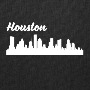 Houston TX Skyline - Tote Bag