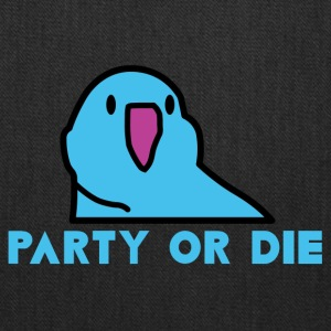 PARTY OR DIE - Blue Party Parrot - Tote Bag