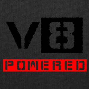 V8 powered red - Tote Bag