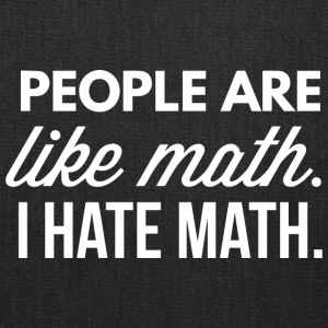 People are like math - Tote Bag
