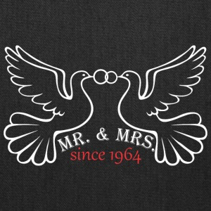 Mr And Mrs Since 1964 Married Marriage Engagement - Tote Bag