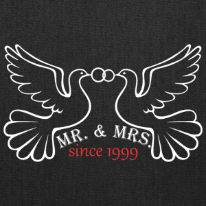 Mr And Mrs Since 1999 Married Marriage Engagement - Tote Bag