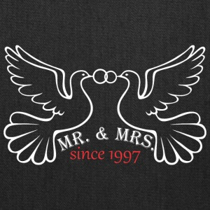 Mr And Mrs Since 1997 Married Marriage Engagement - Tote Bag